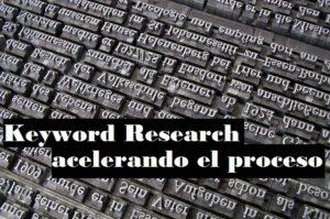 keyword research rapido